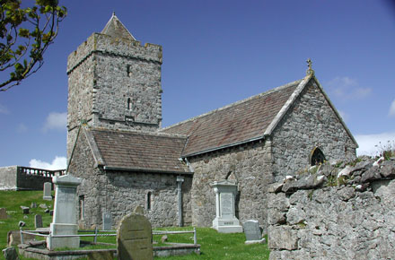 Image of Rodel Church Isle of Lewis